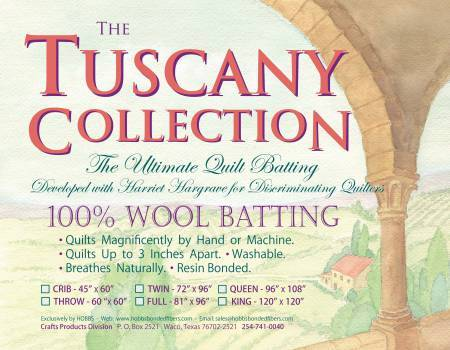 Tuscany Collection - SCHURWOLLE Twin