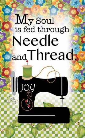 My soul is fed through needle and thread - Magnet